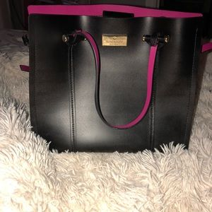 Kate Spade Black and pink purse
